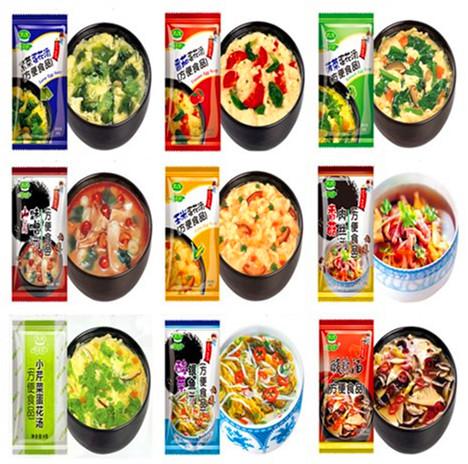 1bags (10*8g)Mushroom miso sopup ingredients vegetable instat soup ...