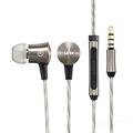 100 Original LETV Earphone Stereo Headphones Bass with Mic For iPhone Smartphone DJ Earphones Metal HiFi
