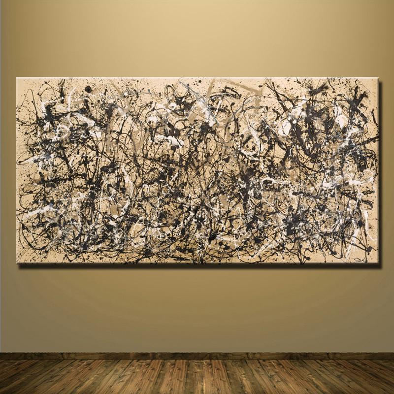 Pollock pittura promozione fai spesa di articoli in - Cuadros gran formato ...