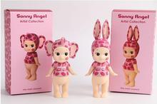 PVC Anime Sonny angel kewpie dolls Artist kiss series rabbit elephant/ marine / love /for 2pcs/set toy action figure model