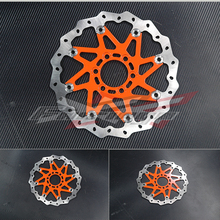 FREE SHIPPING  CNC Aluminium WAVE BRAKE DISC FRONT Fit FOR KTM 125 200 DUKE 2012(China (Mainland))