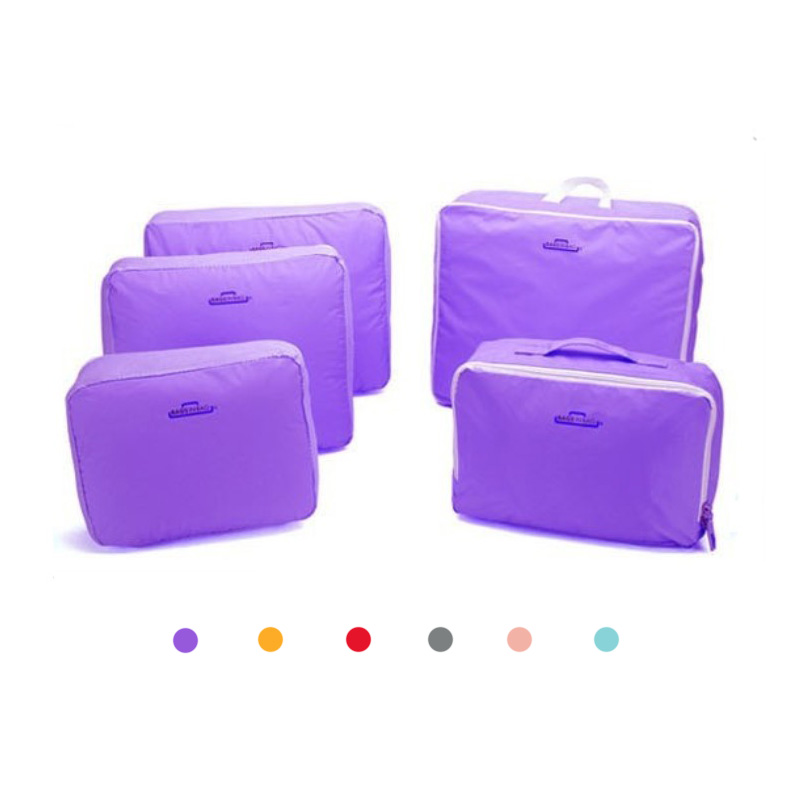 5PC Multi-Functional Portable Travel Luggage Suitcase Clothes Underwear Packing Cubes Organizer container Storage Bag Pouch(China (Mainland))