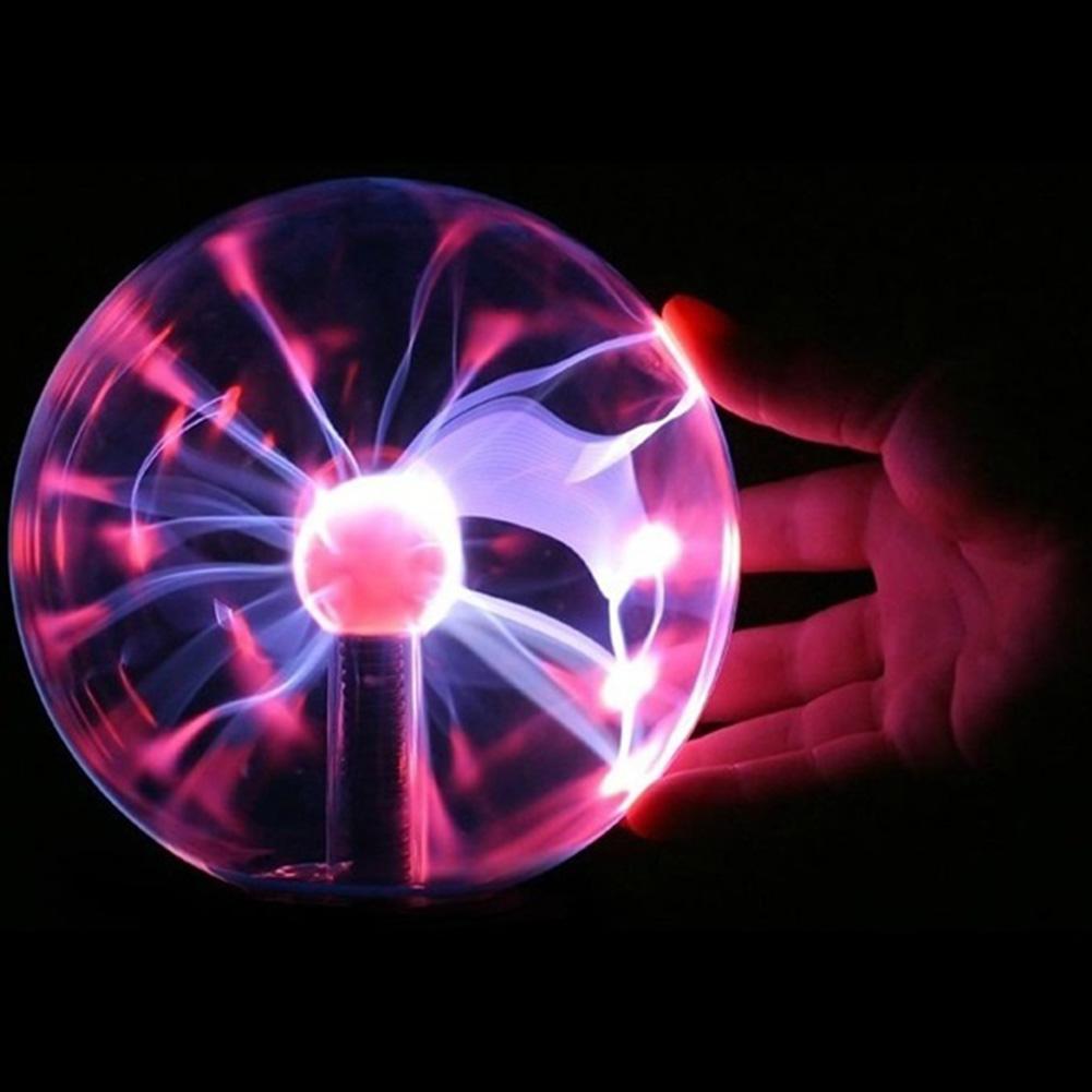 "Hot sale 3"" USB Plasma Ball Sphere Light Magic Crystal And holiday Lamp Free Shipping(China (Mainland))"