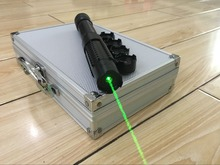 High Powered Adjustable Burning Lazer Pointer 532nm 50000mw Green Laser Pointer Pen with Charger Glasses in Al Box(China (Mainland))