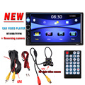 7 HD Car Radio Player Rear View Camera Bluetooth Stereo FM MP3 MP4 MP5 Audio Video