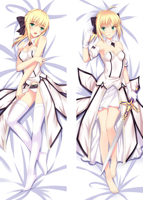 Cool Japanese Anime Dakimakura fate/stay night Saber lily Hugging Body decorative Hugging Body Pillow Case Cushion Cover bedding