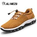 Autumn Winter Men Casual Shoes Warm Suede Leather Outdoor Rubber Men Shoes Plush Fashion Platform Male