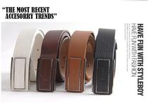 2015 Hot Fashion Men Women Unisex Belts PU Designer Great Alloy Buckle Waistband Waist Belt For Boy Casual Men's Accessories
