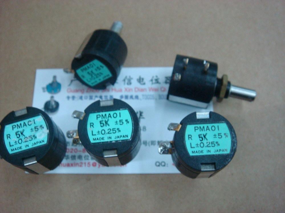 Здесь можно купить  [BELLA]Used Japanese PMAOL P5K multi-turn potentiometer--5PCS/LOT  Электронные компоненты и материалы