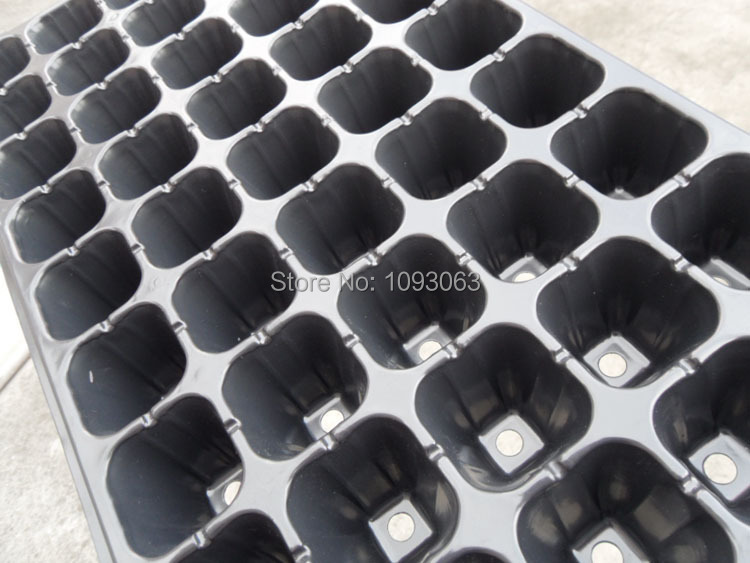 Pack of 2 pieces Plastic Plant 128 Cells Thick Bedding cultivate Trays Seedlings Nutrition Cup Gardening(China (Mainland))