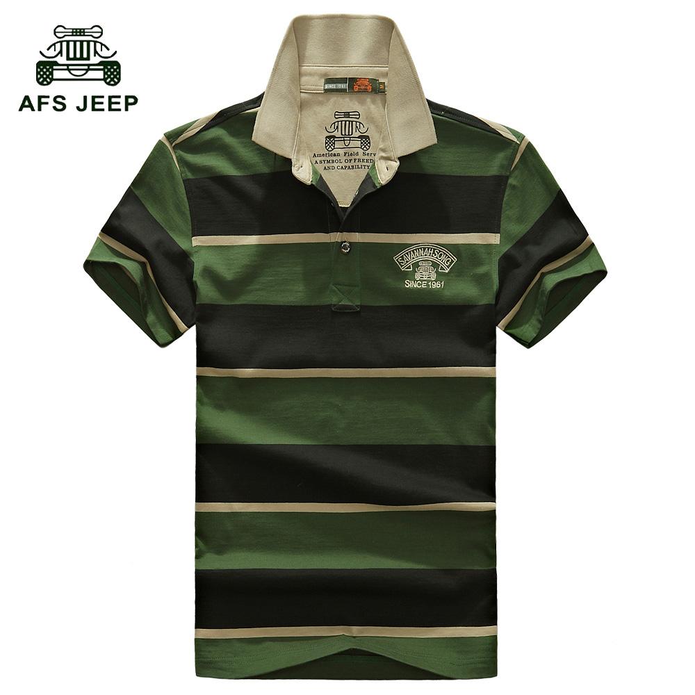 2016 Men's Polo Shirts Fashion Breathable Solid Shirt Man High Quality Tops&Tees Brand AFS JEEP Polo Shirt Summer Clothing 6016(China (Mainland))