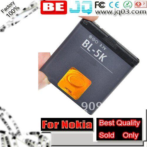 Real 1200mah Replacment BL-5K BL5K Battery For Nokia 701 C7 C7-00 Bateria Battery Batterij Batterie AKKU ( Free Shipment )(China (Mainland))