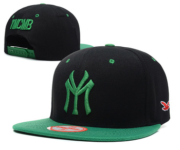 2014 New style YMCMB Snapback caps most popular men women basketball hats grey / green adjustable hiphop hip hop hat & cap