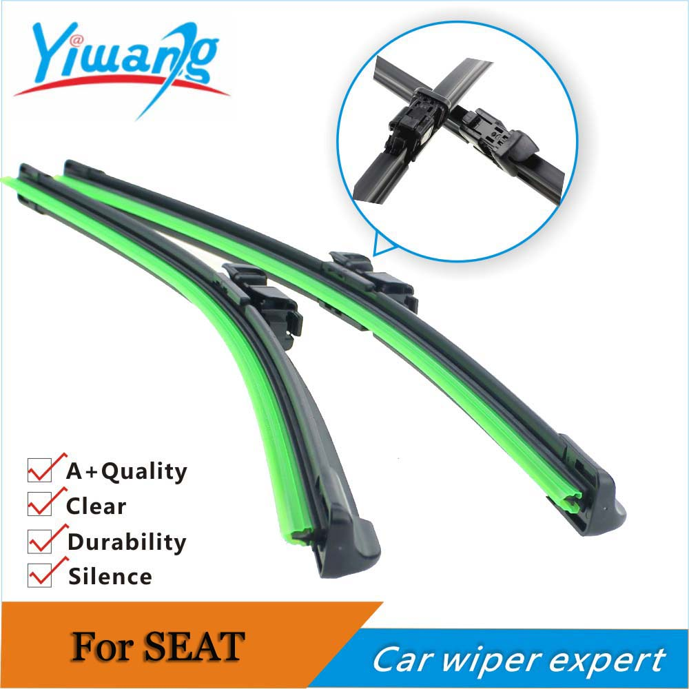 "Auto car wiper blade for SEAT Ibiza (2008 onwards), 24"" +16"",2pcs,car windscreen windshield rubber wiper blade car accessories(China (Mainland))"