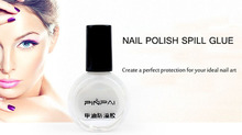Charming Design White Peel Liquid Nail Finger Skin Protected Liquid Palisade ,Easy Clean Nail Polish(China (Mainland))