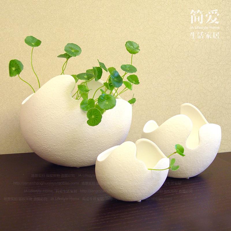 Small Ceramic Vase Ornaments Table Vase White Ikea Living