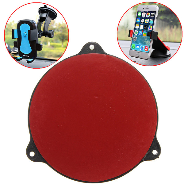 High quality Simple Style Universal Mount Car Cradle Holder GPS Adhesive Dash Board Suction Disc Disk Sticky Pad removal by hand(China (Mainland))