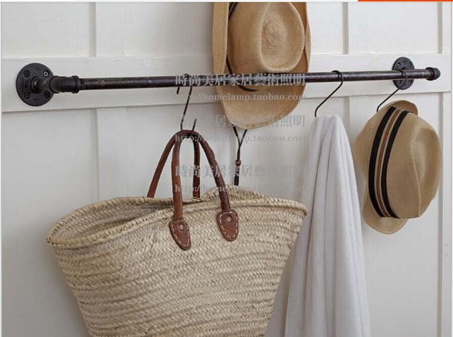 Industrial pipe hangers werbeaktion shop f r werbeaktion for Garderobe rohre