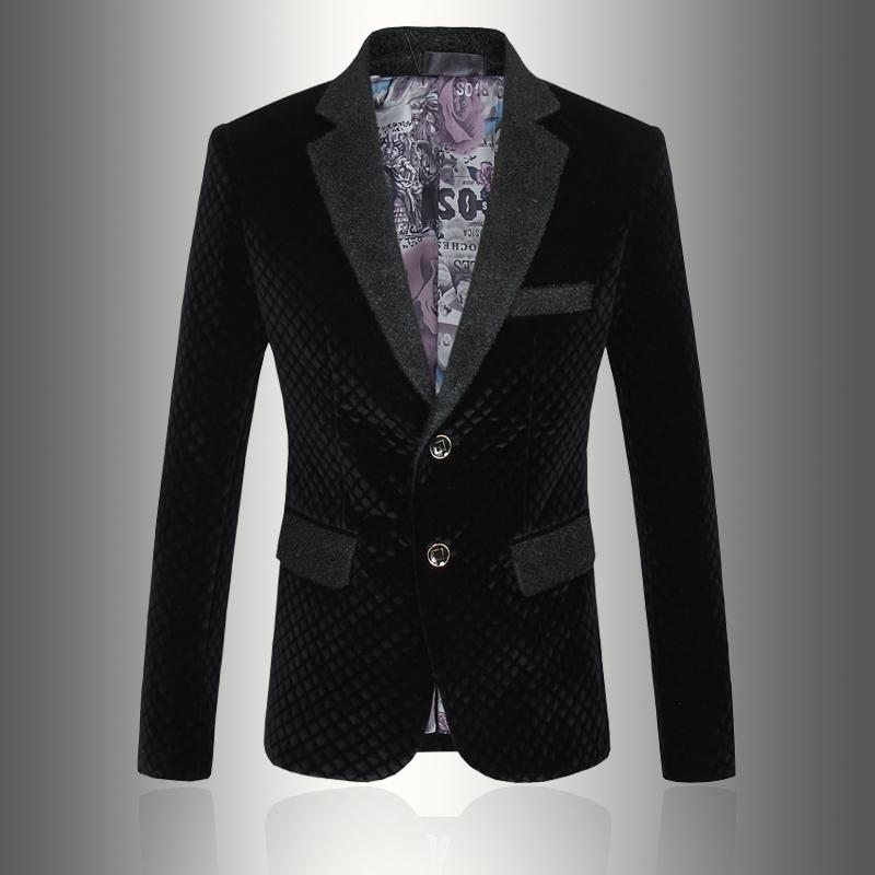 Men Suit Business Formal Men Fashion Blazer Jackets Plus Size M-5XL Slim Fit Suit Blazer Brand Design Male Casual Jacket