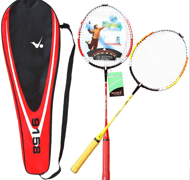 Wholesale 24Pairs / Lot Amateur couples Badminton Rackets Indoor Fitness Sports Free Shipping(China (Mainland))