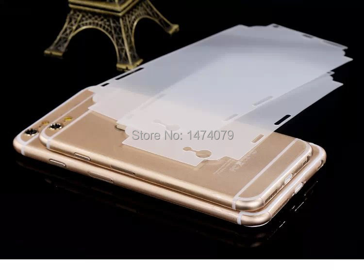 Transparent invisible Protector Sticker Skin Cover Paster Apple iPhone 6 4.7 inch phone cases - JAH Pacific Trading store