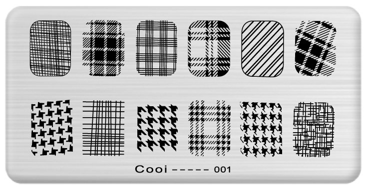 6*12cm Steel Plate Nail Art Image Stamp Stamping Plates Manicure Template Hot Selling Tools - dance in finger store