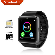 Smart Watch GT08 Bluetooth Health Android Wear Smartwatch Waterproof Mobile Phone Fitness Watches Camera Clock PK DZ09 GV18