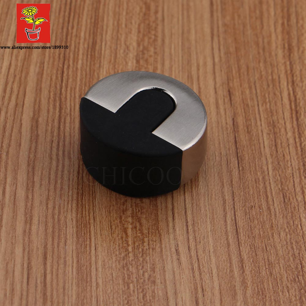 Buy wholesale 10pcs zinc alloy door stoppers decorative glass door stop rubber - Door stoppers rubber ...