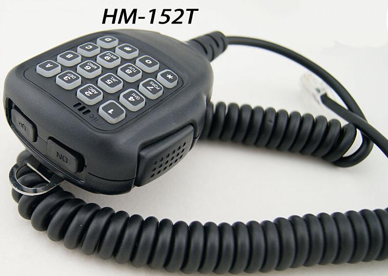 NEW HM-152T 10 Key & modular Heavy Duty DTMF Microphone for Land Mobile Radio IC-F5061 IC-F2821 IC-2200H/2300H HM-118TN HM-100TN(China (Mainland))