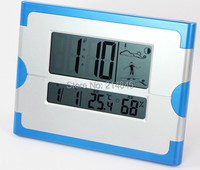 M5 digital wall clock with LCD,The weather,The calendar,The alarm clock and snooze functions