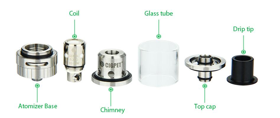 ถูก เดิม80วัตต์CigpetมดTC E-cigชุดด้วยกล่องมด80วัตต์VW/VTโหมดและมดเครื่องฉีดน้ำ3มิลลิลิตรความจุชุดบุหรี่อิเล็กทรอนิกส์/Mod