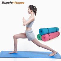Tpe yoga mat No pungent smell household fitness mat slip-resistant lengthen thickening waterproof Environmentally friendly mat