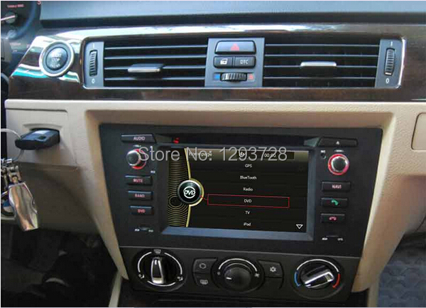 For bmw e90 radio/For bmw e90 car multimedia player/Double din car radio with gps for bmw e90 e91 e92(China (Mainland))