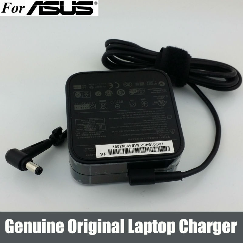 Original 65W AC Adapter Charger For ASUS a3 a6000 f3 x50 x55 A3 A8 F6 F8 F83CR X50 X550V V85 A9T K501 K50IJ K50i K52F(China (Mainland))