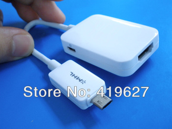 Free Shipping Micro USB 11p MHL 2.0 to HDMI HDTV Adapter Cable for Samsung Galaxy S4 S5 i9500 IV LTE i9505 Note 3 8