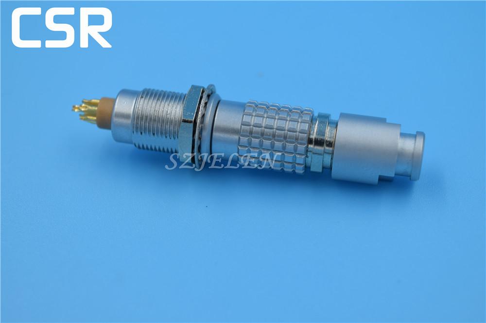 LEMO 0B connector 7 pin ,FGG.0B.307CLAD/EGG.0B.307.CLL.Camera Connector plug socket 7 pin, surveying instruments connector(China (Mainland))