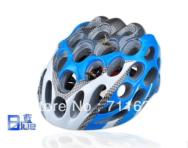 2012 Cycling Bike Safety Bicycle Honeycomb Type 41 Holes Adult Helmets