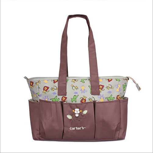 2015 new 2 pattern functional baby diaper bags bag changing nappy bags for mummy bag mum. Black Bedroom Furniture Sets. Home Design Ideas