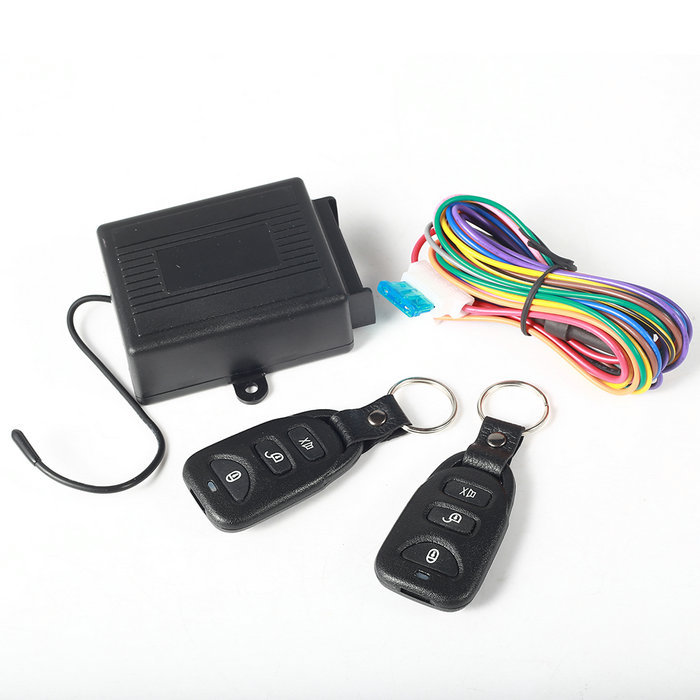 New Arrival Universal Car Central Door Lock Locking Keyless Entry System + 2 Remote Control(China (Mainland))