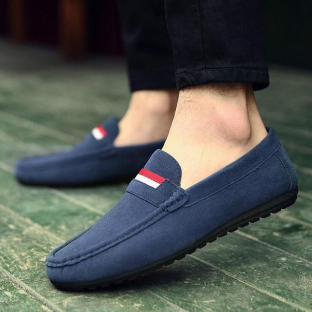 2016 горячая квартиры мужчин обувь летняя мужские мода Sneake свободного покроя мокасины ...