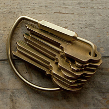 MODERN Hard Bronze Key Chain Clip Organizer Pocket EDC Tool Key-Bar,QingGear MODERN Key Mart Keys Holder(China (Mainland))