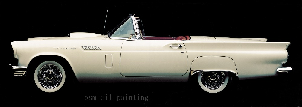 Classic Vintage Cars Canvas Art Wall Pictures Oil Painting Cuadros Decoration Prints Canvas Painting Home Decor Spray Paintings(China (Mainland))