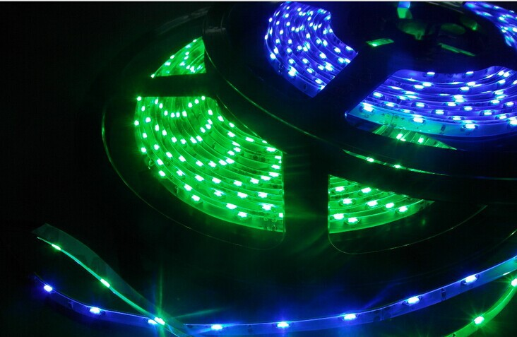 whitle/warm white/red/yellow/blue/green color 60leds/M side emitting led strip 5mm or 8mm wide PCB white color(China (Mainland))