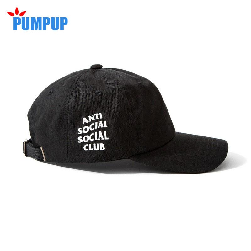 Anti Social Social Club Baseball Cap Men Women 2016 Brand New Summer Hat 6 God Pink White Black Letter Adjustable Golf Outdoor(China (Mainland))