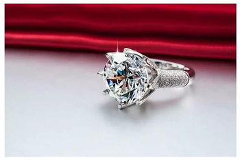 White Gold Luxury Engagement Ring