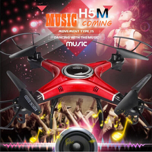JJRC H5M Music Drones With/without 2.0 PM Camera Hd Quadcopters With Speaker Hexacopter Professional Helicopter Camera Copter