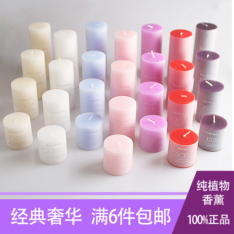 Long Time Scented Candle Pillar Essential Oil SPA Candle Wedding Candles(China (Mainland))