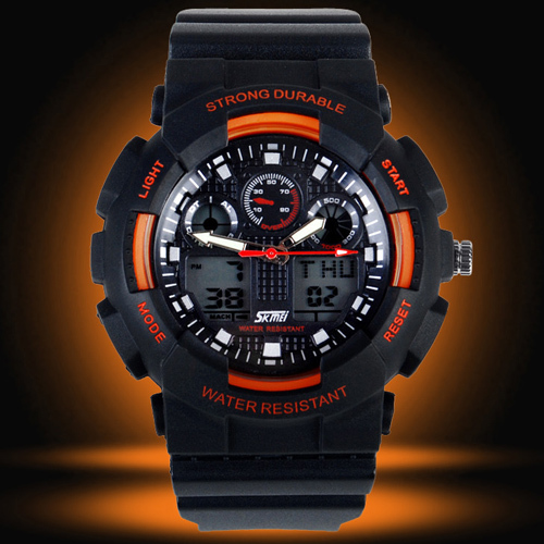 new designer dual time sport watches g style