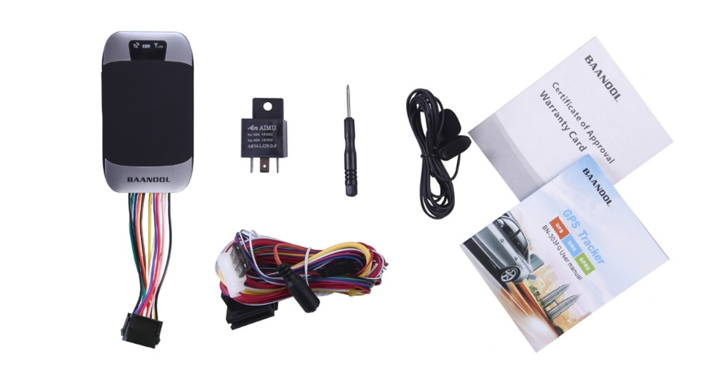 No retail box , Mini motorcycle gps BN-303F imei tracking online Vehicle GPS Tracker BN303F with ACC, easy to hide GPS(China (Mainland))
