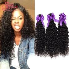 aliexpress hair,big discount on sale brazilian afro kinky curly hair 3bundles brazilian virgin human hair queen hair products(China (Mainland))